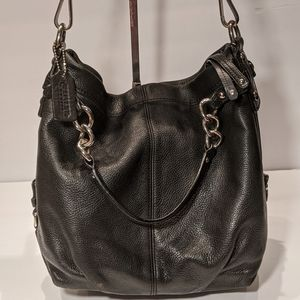 Coach Brooke Leather Hobo Bag